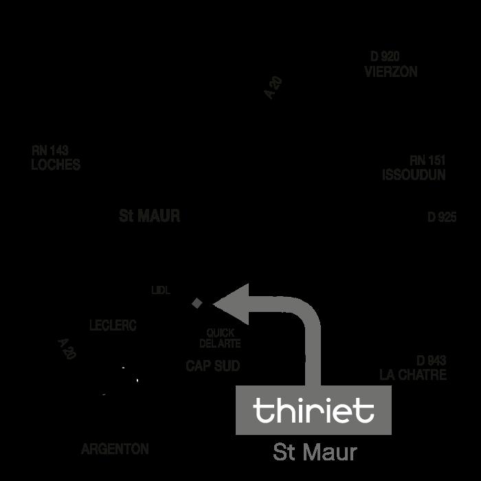 Plan Magasins Thiriet SAINT-MAUR