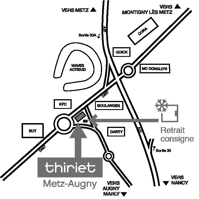 Plan Consignes Thiriet AUGNY