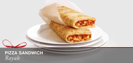 1 Pizza sandwich Royale