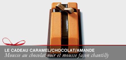 Le cadeau caramel/chocolat/amande