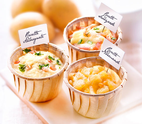6 Mini spécialités aux fromages de nos régions