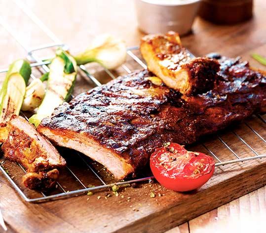 Ribs de porc barbecue