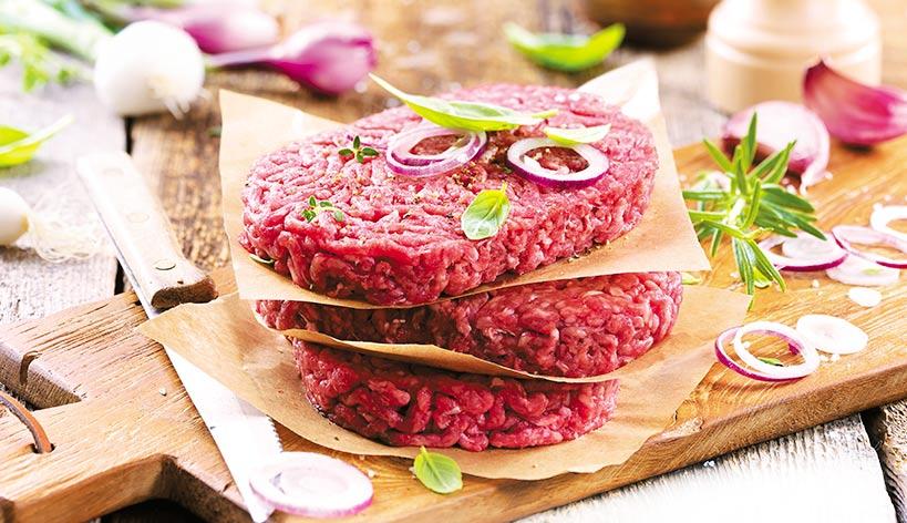 Steaks hachés pur boeuf race Charolaise