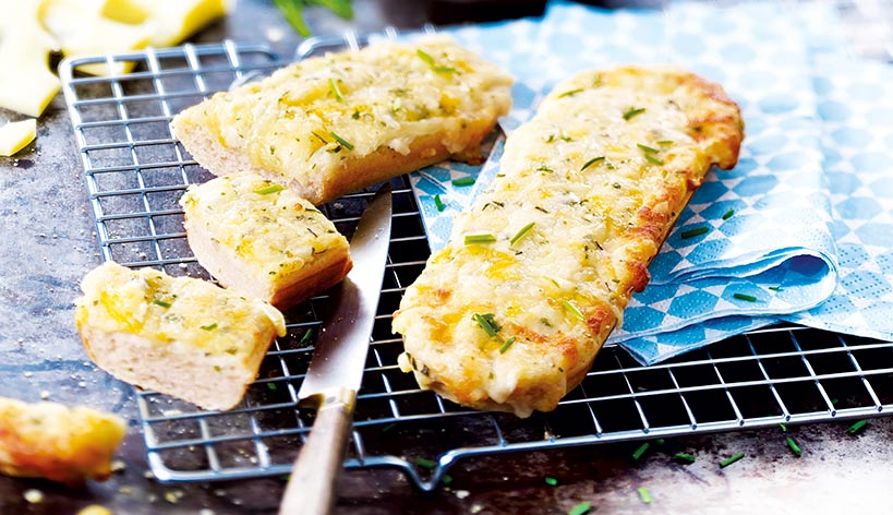 Tartines 4 fromages