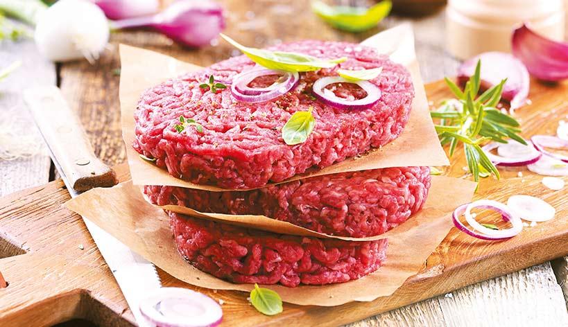 Steaks hachés pur boeuf + 2 gratuits