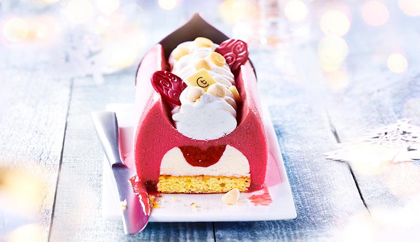 Instant fruité fraise-madeleine