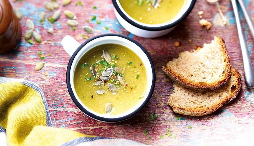 Potage aux 6 légumes d automne