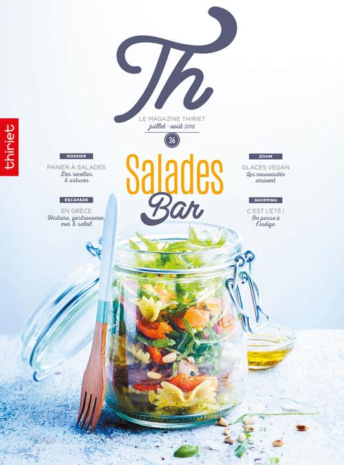 Th® n°36 - juillet-août 2018 - Salades Bar