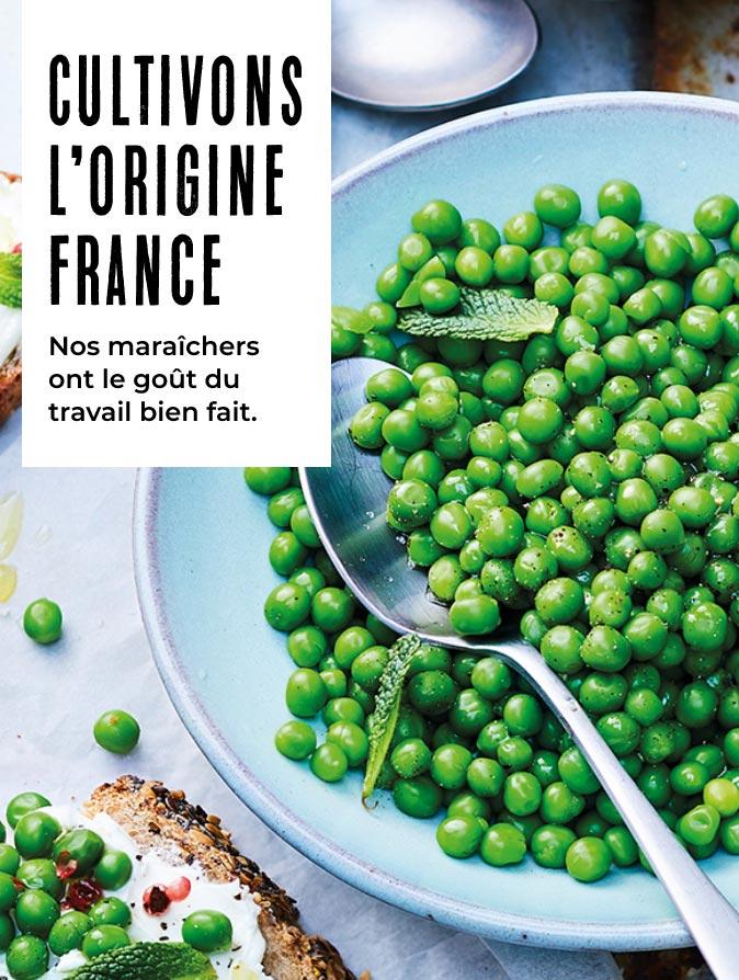 Cultivons l'origine France avec la Maison Thiriet