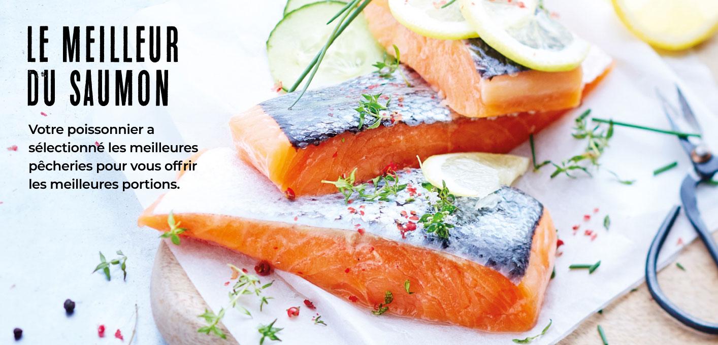 Maison Thiriet a sélectionné le meilleur du saumon !