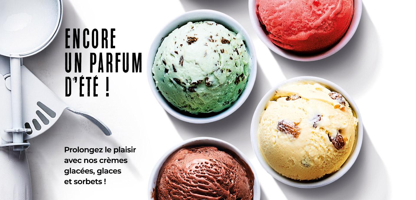 Encore un parfum d'été avec les glaces de la Maison Thiriet !