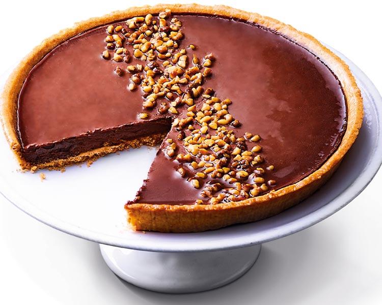 Tarte à partager - Tarte au chocolat noir d'Equateur