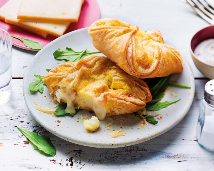 Feuilletés - 2 paniers raclette et pommes de terre bio