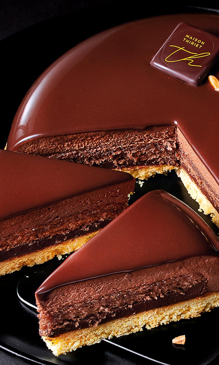 Desserts pâtissiers - Pur chocolat noir de Tanzanie