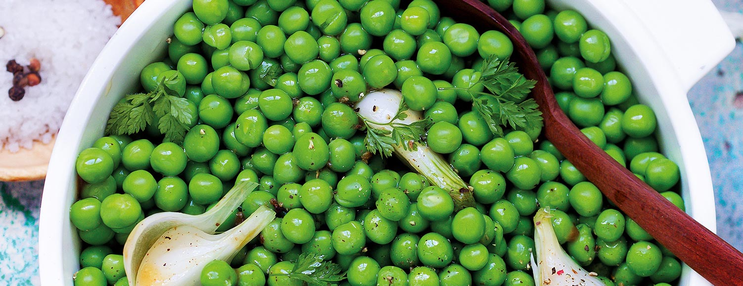 Légumes précuits vapeur - Petits pois précuits vapeur