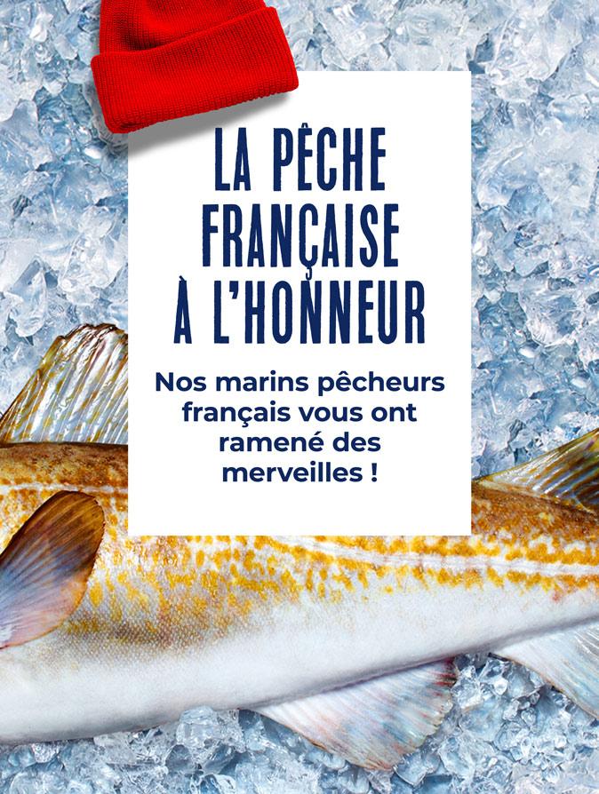 La pêche française à l'honneur chez la Maison Thiriet !