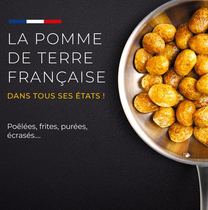 La pomme de terre française est dans tous ses états chez la Maison Thiriet !