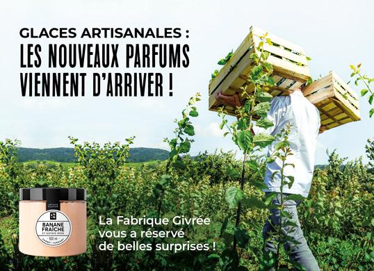 Les nouveaux parfums des glaces artisanales viennent d'arriver chez la Maison Thiriet !