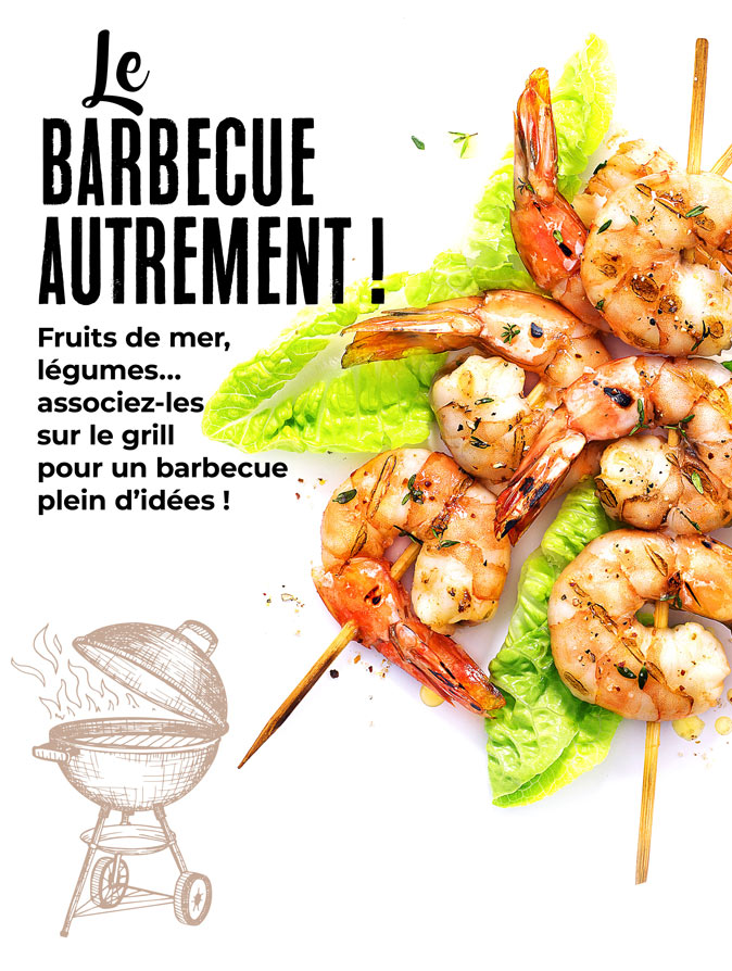 Le barbecue autrement avec la Maison Thiriet !