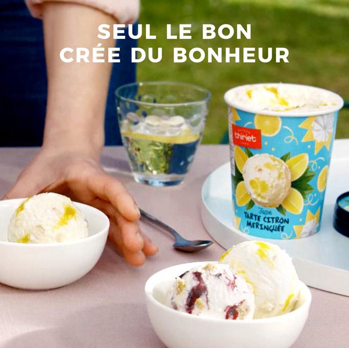 Les nouveaux pots de glaces gourmands de la Maison Thiriet !