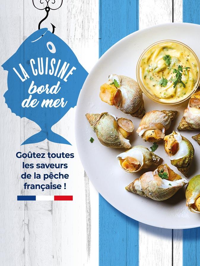 Goûtez toutes les saveurs de la pêche française avec la Maison Thiriet !