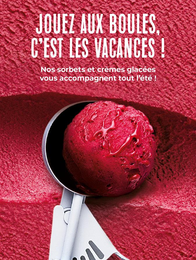 Les sorbets et crèmes glacées de la Maison Thiriet vous accompagnent tout l'été !