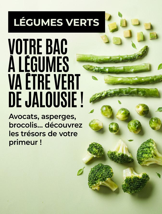 Avocats, asperges, brocolis… Votre bac à légumes va être vert de jalousie avec la Maison Thiriet !