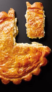 Feuilletés crêpes snacking - Tourte pommes de terre à la truffe blanche d'été