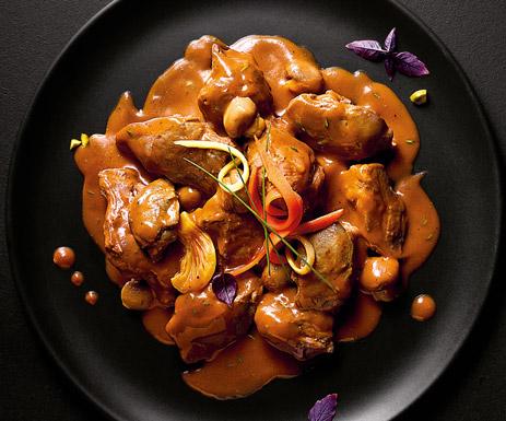 Plats cuisinés - Canard sauce au vin rouge de Cahors et champignons
