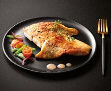 Poisson nature - Filets d'églefin coupés en portions
