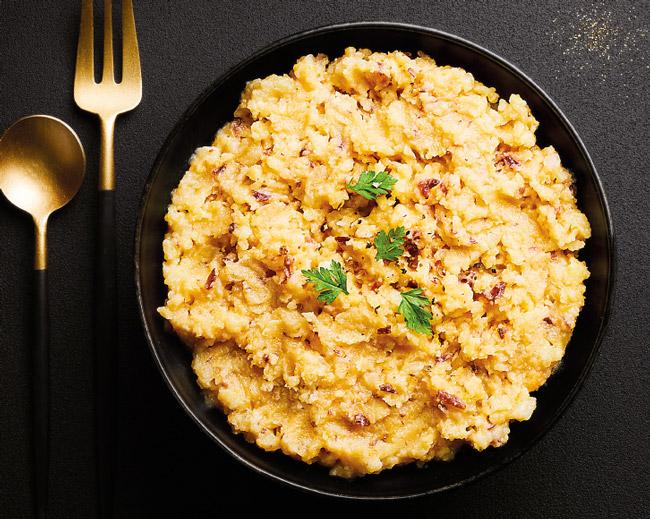 Légumes - Écrasé de pommes de terre butternut et cranberries