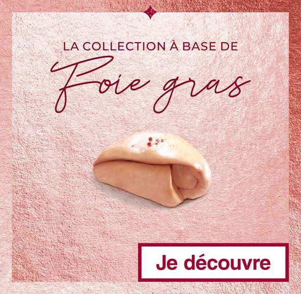 La collection à base de Foie gras Thiriet pour Noël