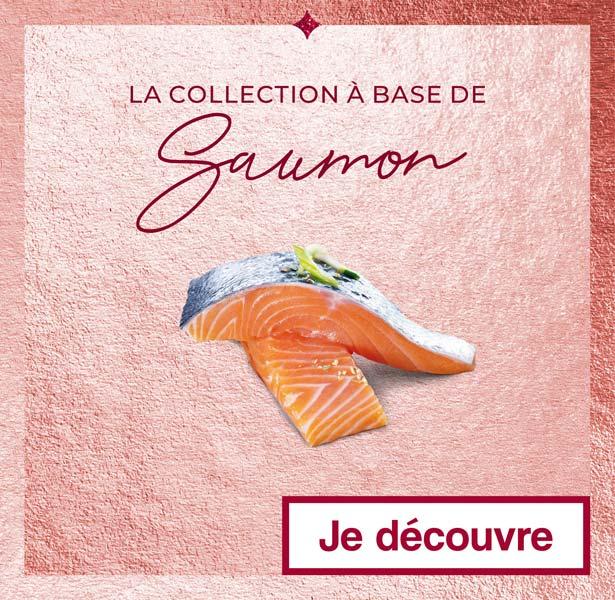 La collection à base de Saumon Thiriet pour Noël