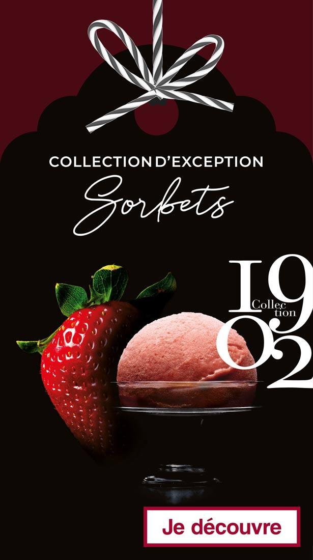 La collection 1902 des Sorbets d'exception signées Thiriet