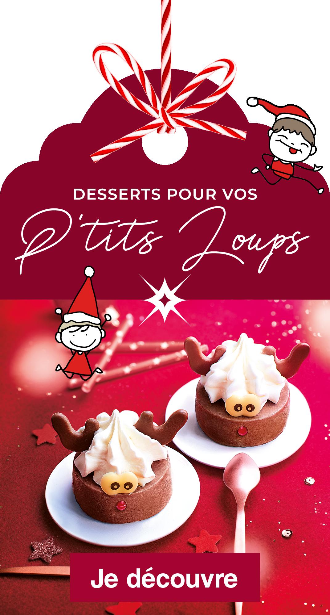 Les desserts de Noël pour les enfants chez Thiriet