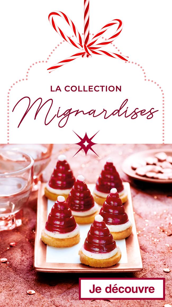 La collection des Mignardises Thiriet pour Noël