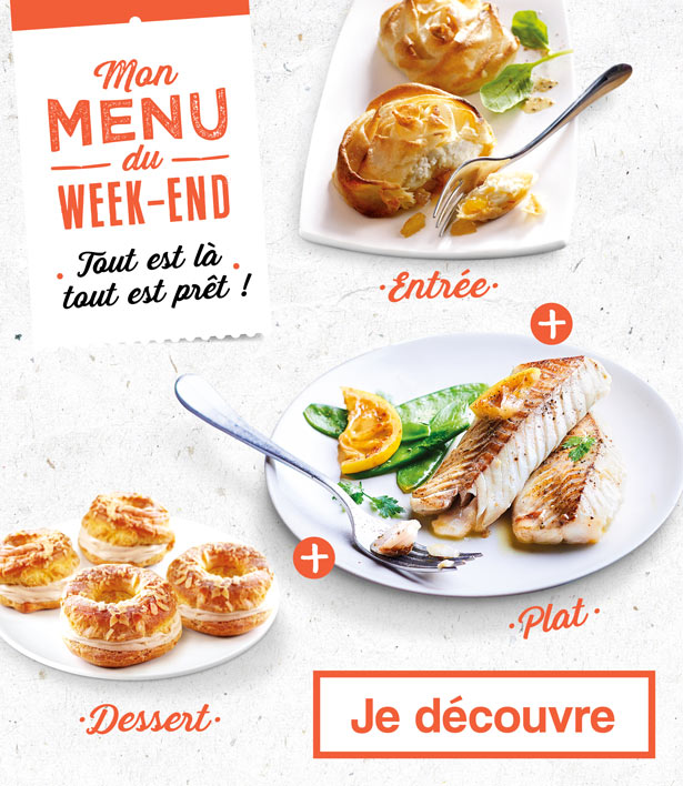 Mon menu du week-end avec La Maison Thiriet !