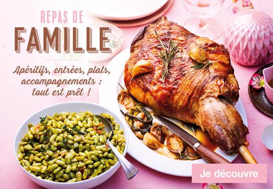 Repas de famille à Pâques : Apéritifs, entrées, plats, accompagnements : tout est prêt !