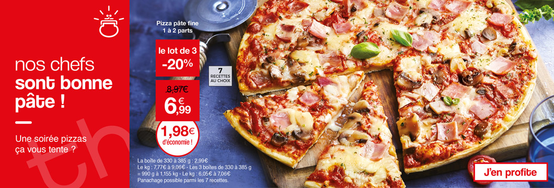 Une soirée pizza, ça vous tente ?