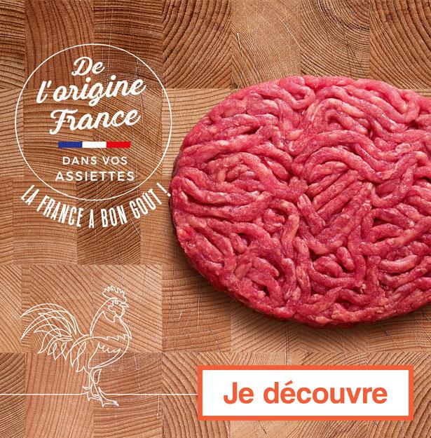 De l'origine France dans vos assiettes !