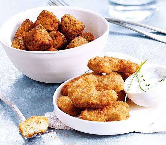 Boulettes de soja - nuggets de blé et pois
