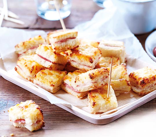 Mini croque-monsieur