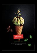Carte des glaces : sorbets et crèmes glacées de la Maison Thiriet - Collection 2021