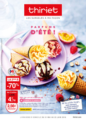 Catalogue du 31 mai  au 25 juin 2018