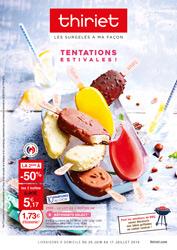 Catalogue du 26 juin au 17 juillet 2018