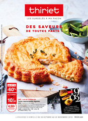 Catalogue Thiriet du 28 octobre au 25 novembre 2019