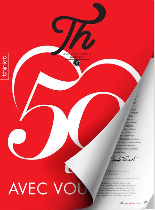 Th® n°13 - janvier 2016 - 50 ans avec vous