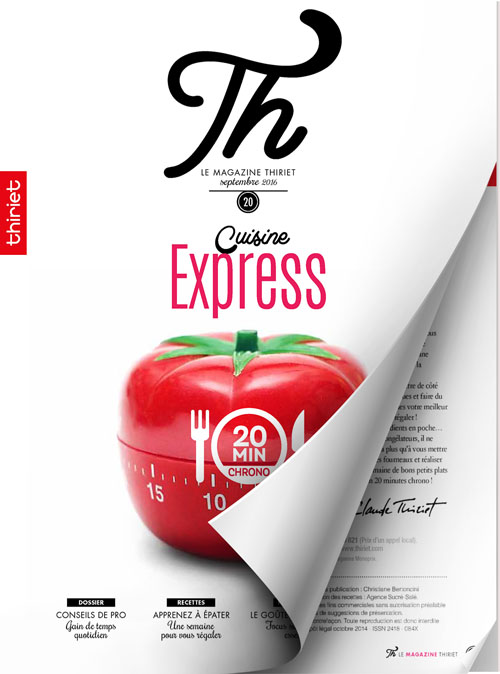 Th® n°20 - septembre 2016 - Cuisine Express