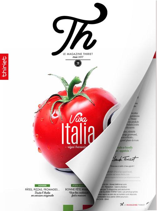 Th® n°28 - mai 2017 - Viva Italia, régal transalpin