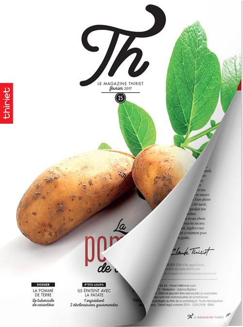 Th® n°25 - février 2017 - La pomme de terre !